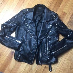 Blank NYC Studded Moto Jacket